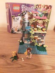Lego Friends Einsatz am Dschugelwasserfall