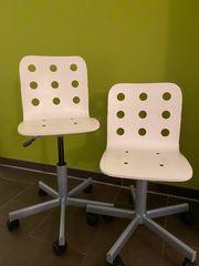 Ikea Schreibtischstühle JULES weiß