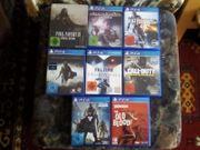 Große PS 4 Spiele Sammlung