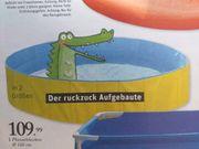 Planschbecken - Pool - Der ruckzuck Aufgebaute