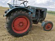 Röhr 28R Traktor Bulldog 1953