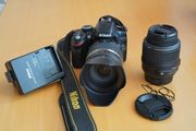 Nikon D3200 2 Objektive Tamron
