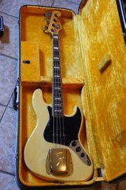 Verkaufe Fender Jazzbass Bj 1974
