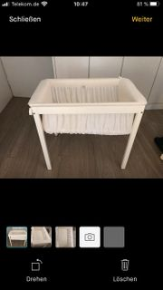 Stokke Home Cradle White Babywiege