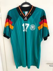 Deutschland Trikot Auswärts EM 1992
