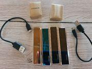 USB Feuerzeuge 4 Stück PREIS
