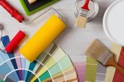 Malerarbeiten Streichen Farbspritzen Gut Günstig