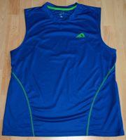 Blaues Sport-Shirt - Größe L - Sport-Top -
