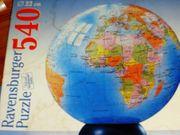 Globus als Puzzle