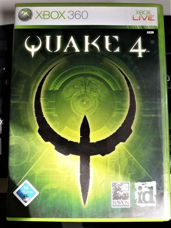 QUAKE 4 XBOX 360 action