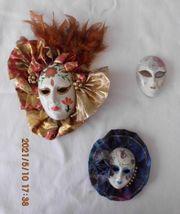 Venezianische masken Konvolut 3