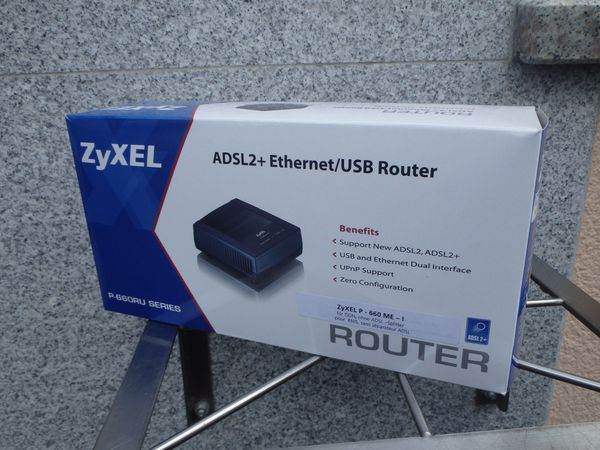 Router Zyxel P - 660 ME-I
