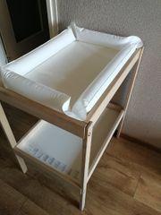 Ikea Wickeltisch mit aufblasbare Auflage