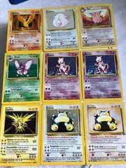 Pokémonkarten Sammlung seltene Karten
