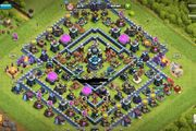 clash of clans maxed th13