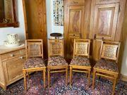 Antiquität 4 Holzstühle