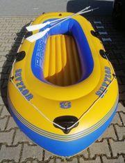 Seylor Schlauchboot Paddelboot 4 Personen