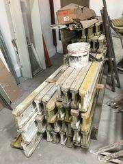 Schalung-DoKa-Träger Stützen Köpfe Füsse
