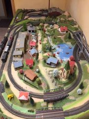 Eisenbahnanlage Fleischmann h0