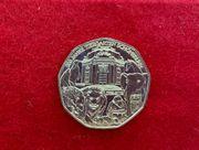 Zwei Silbermünzen 5 Euro und
