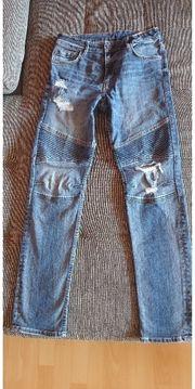 Jeans Bikerlook H M Gr