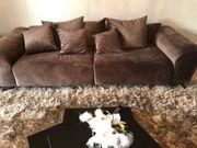 edles Big Sofa in Samt