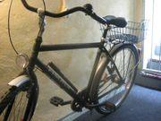 Fischer Herrenrad 28er silber schwarz