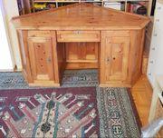 Antiker Eck-Schreibtisch