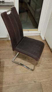 Stuhl Schwingstuhl 4x