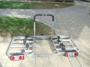 Abschließbarer Autofahrradträger Eufab vier Fahrräder