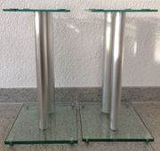 Boxenständer Minify V2 Klar-Glas