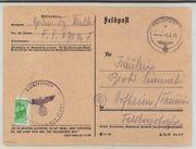 Kurlandschnellbrief als Karte Mi 2800