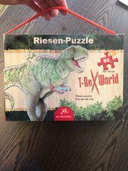 Riesen-Puzzle T-Rex World 80 Teile