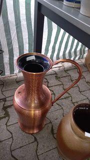 Kupfervase zu verkaufen
