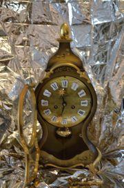 Erbstück-Echt vergoldete handgearbeitete Uhr 40cm