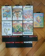 Sega Master System SMS Spiele