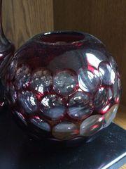 WMF Vasen aus Überfangglas geschliffen
