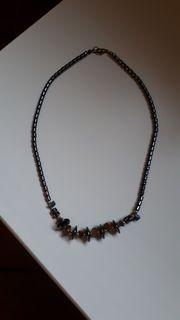 Halskette Blutstein Hämarit inkl Versand