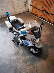 POLIZEI MOTORRAD mit Licht und