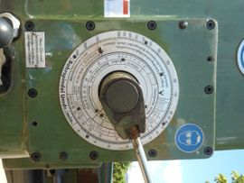 Produktionsmaschinen - Radialbohrmaschine Type RM 62 - Fa