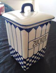 Vorratsdose Schütte Zucker um 1900 -