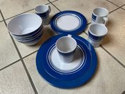 Geschirr- Set für 4 Personen