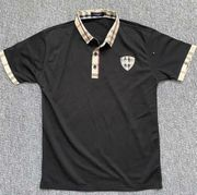 Burberry Poloshirt Gr M schwarz