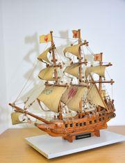Hobby-Aufgabe Modellschiff Brandenburg Holz Modellbau