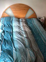 Wasserbett 200x220 mit Kopfteil und