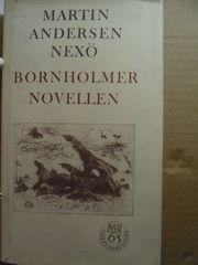 Bornholmer Novellen Martin Andersen Nexö