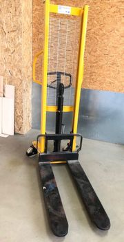 Hochhubwagen Hydraulik Handstapler 1 0t