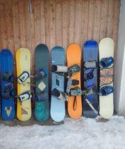 Burton Snowboards von 129cm - 143cm