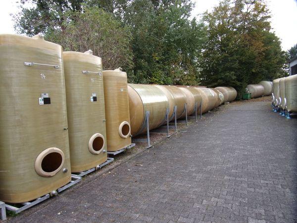 Weintanks Regenwassertanks GFK-Tanks