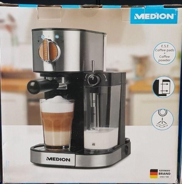 MEDION MD 17116 Espresso Maschine